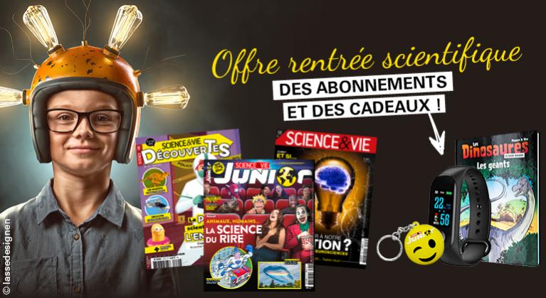 La meilleure offre de l'année  Science !
