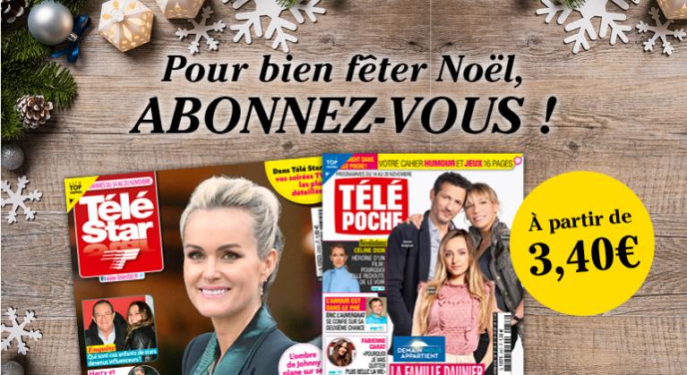 Télé Star et Télé Poche : Offres Spéciales noël !