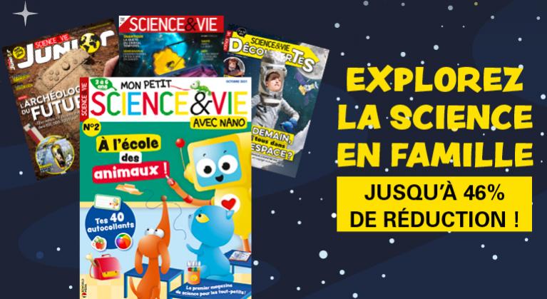 Mon Petit Science & Vie : offres exceptionnelles de lancement !