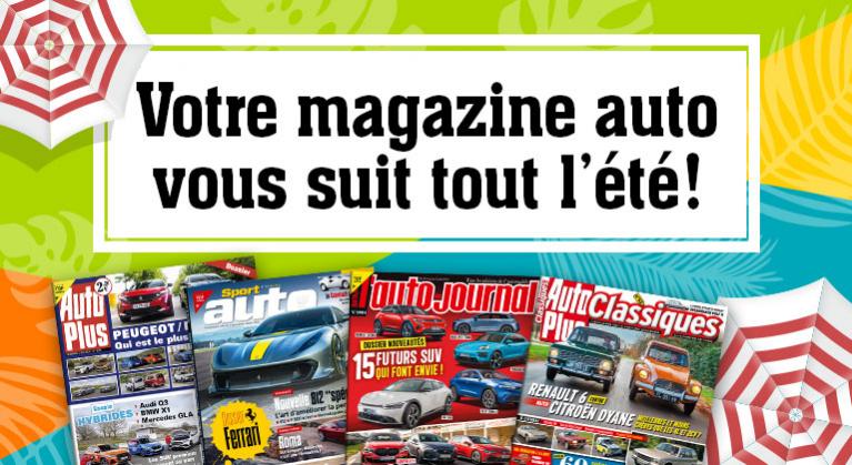Vos magazines auto à partir de -50 %