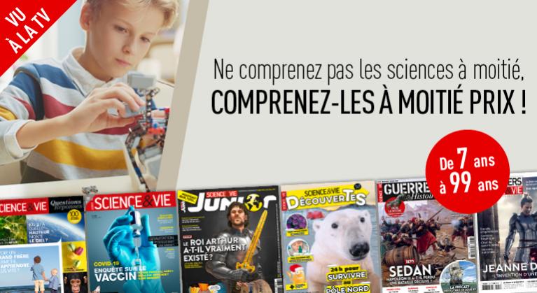Vu à la TV : nos meilleures offres Science !
