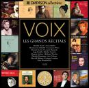 Coffret 15 CD Voix les grands récitals
