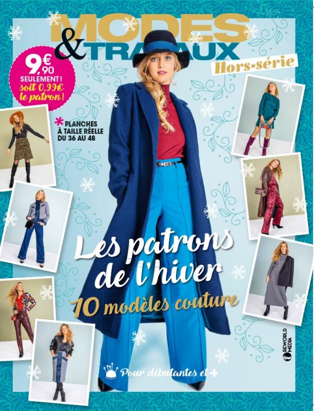 """Le hors série couture N°33 """"Les patrons de l'hiver"""""""