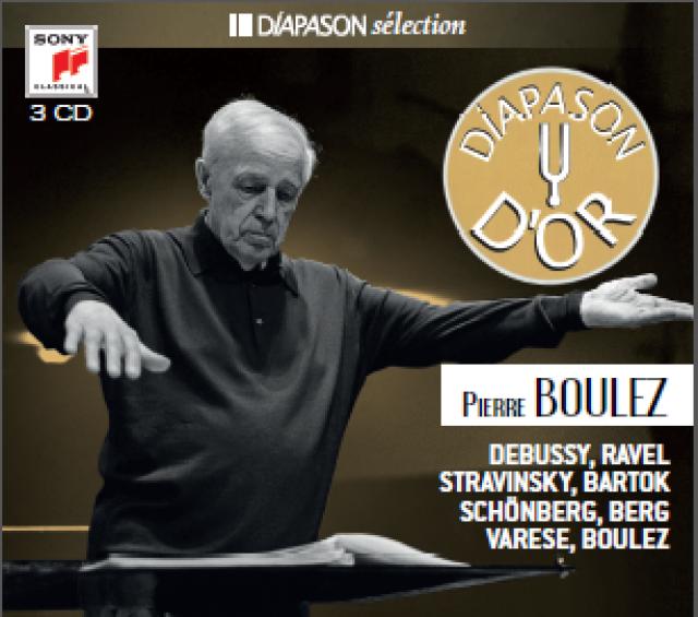 Coffret 3 CD Pierre Boulez