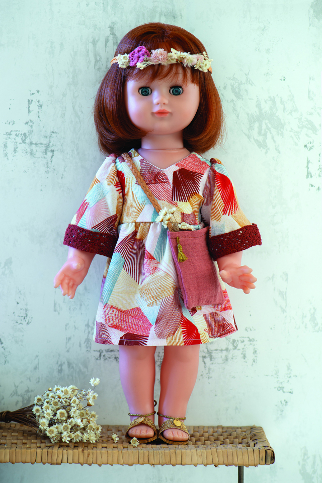 Patron enfant : Robe seventies