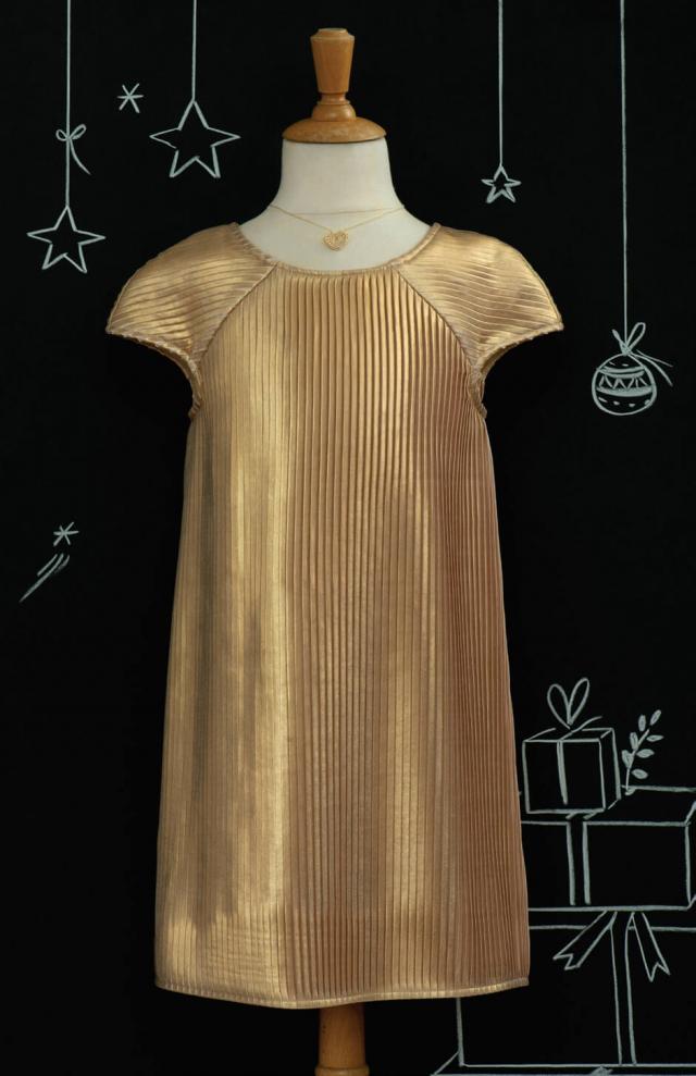"Patron enfant ""Une robe en or"""