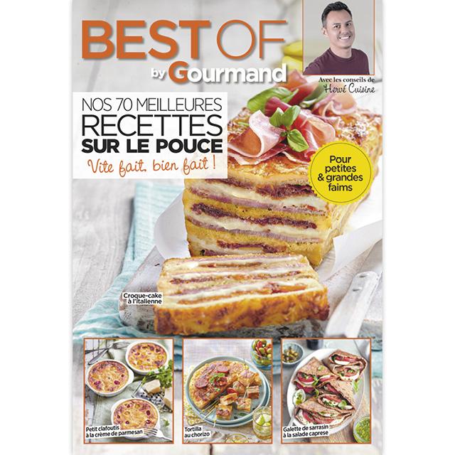 Best of Gourmand n°81 : « Nos 70 meilleures recettes sur le pouce »
