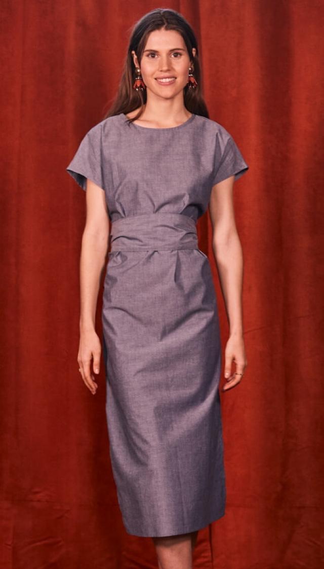 """Patron """"Robe esprit Kimono"""""""