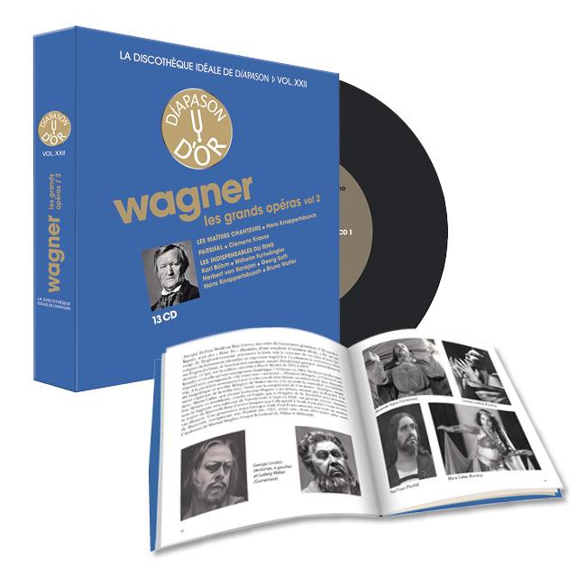 COFFRET Richard Wagner Les Grands Opéras Vol.22