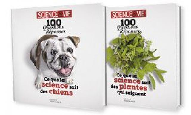"""Lot de 2 livres : """"Ce que la science sait des chiens"""" + """"Ce que la science sait des plantes qui soignent"""""""