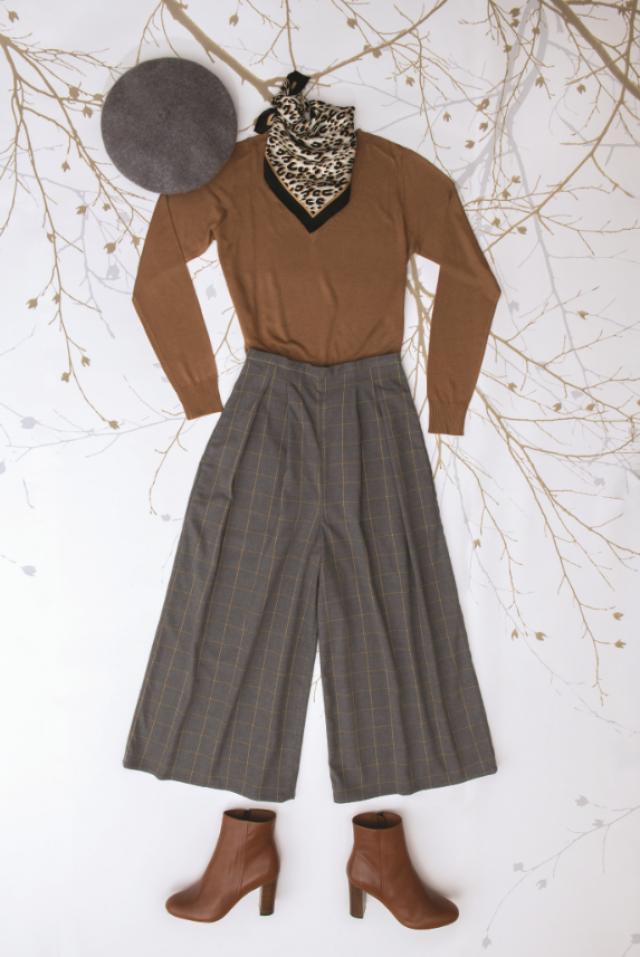 Patron femme : jupe-culotte tendance