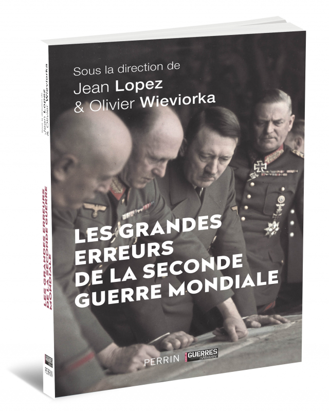 """Livre """"Les Grandes Erreurs de la Seconde Guerre Mondiale"""""""