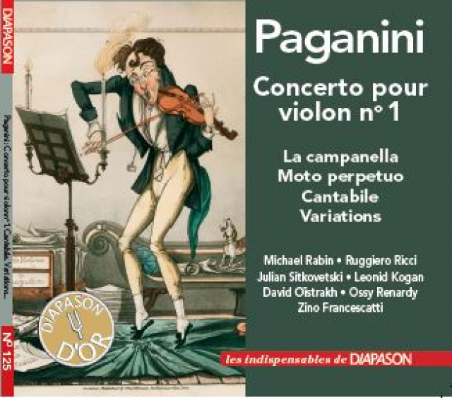 CD Indispensable n°125 : Paganini