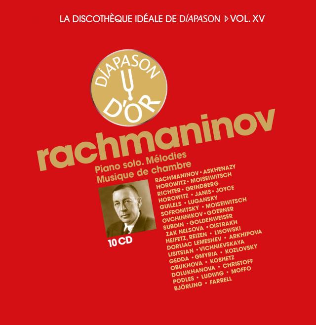 Discothèque Diapason 15 : Rachmaninov