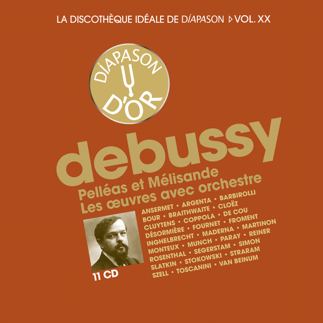 Coffret n°20 Debussy - 11 CD