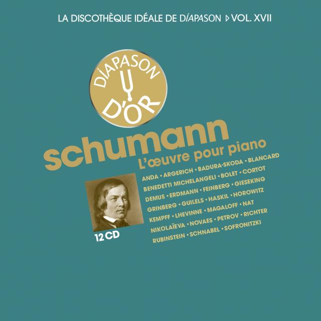 Coffret n°17 de la Discothèque Idéale : Schumann