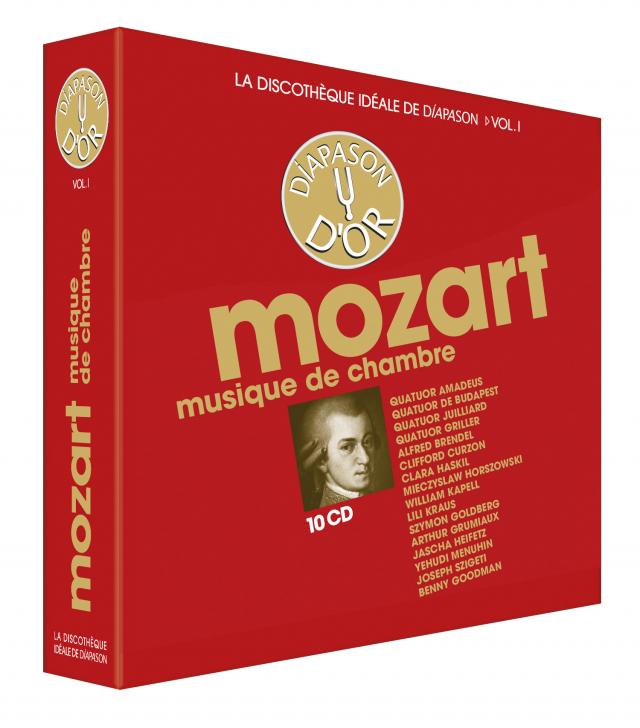 Discothèque Diapason 1 : Mozart