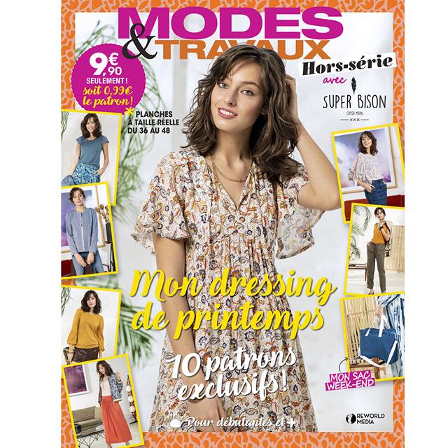 Hors-série Modes & Travaux « Mon dressing de printemps »
