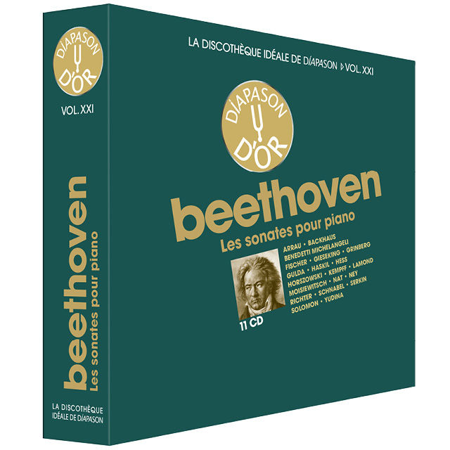 Coffret n°21 Beethoven - 11 CD