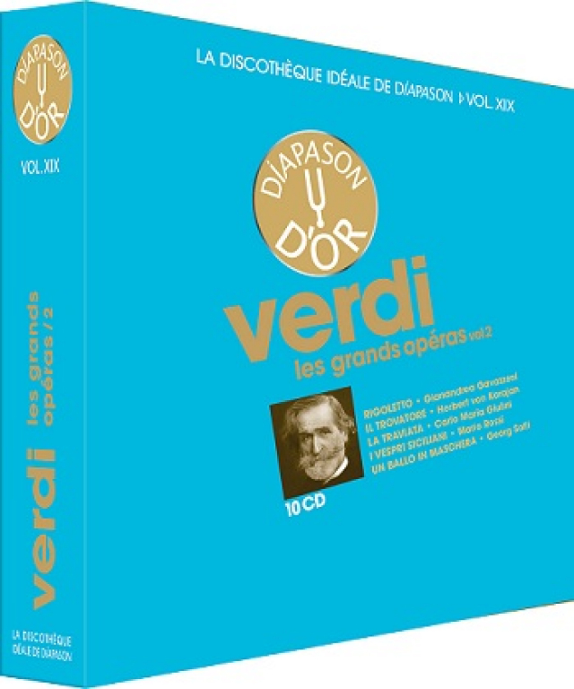Coffret n°19 VERDI vol 2 - 10 CD