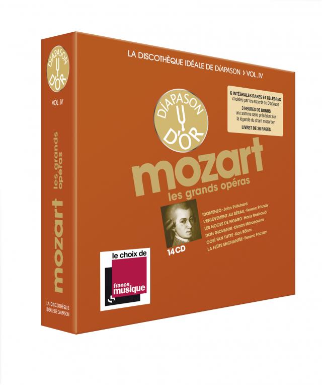 Discothèque Diapason 4 : Mozart, Opéras