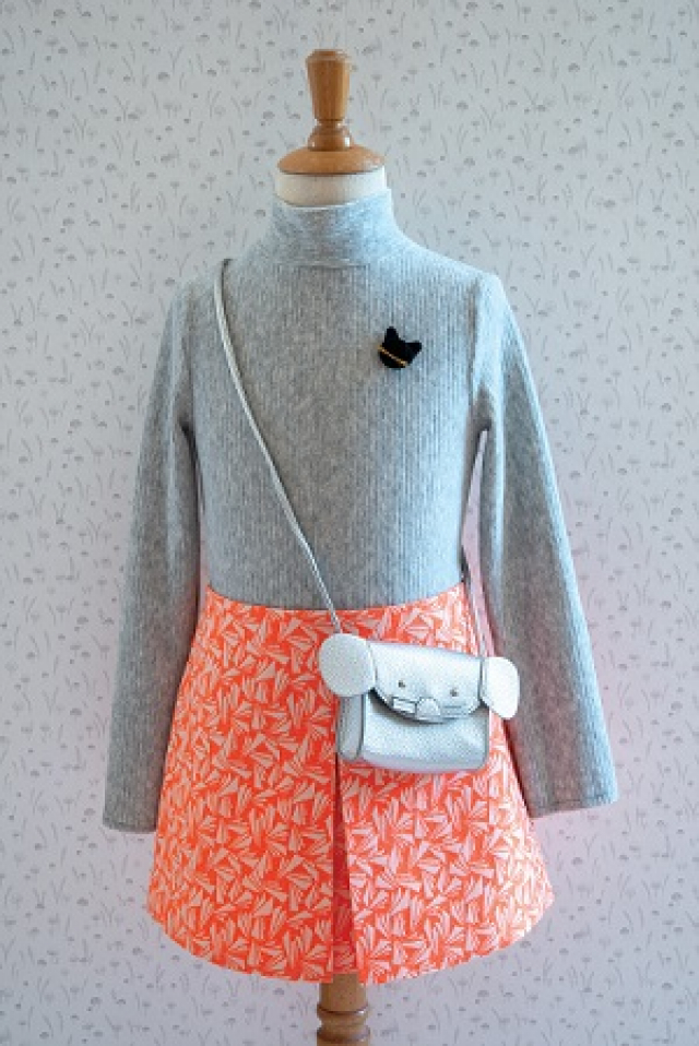 Patron Enfant Mini-jupe et sous-pull