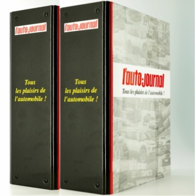 Lot de 2 reliures L'Auto Journal