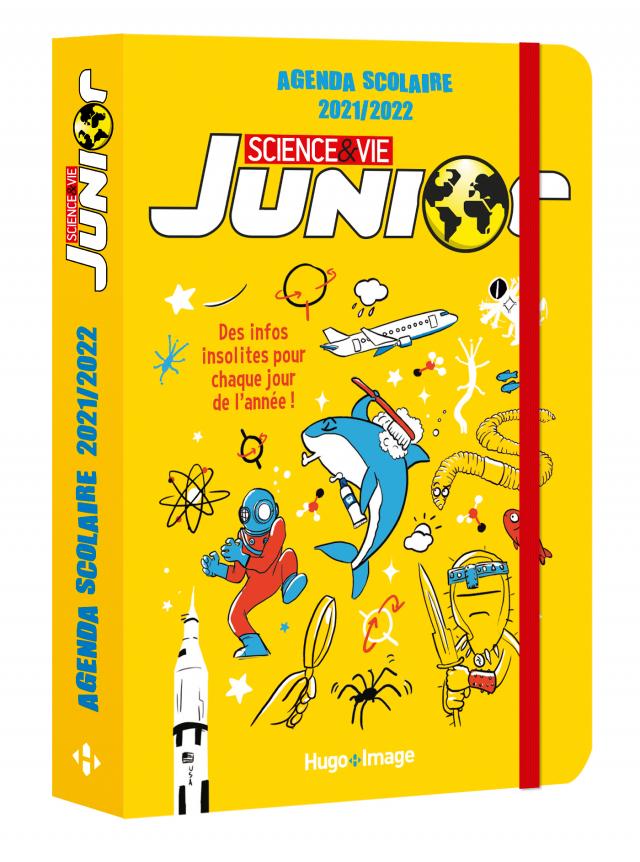 Agenda scolaire 2021-2022 Science & Vie Junior
