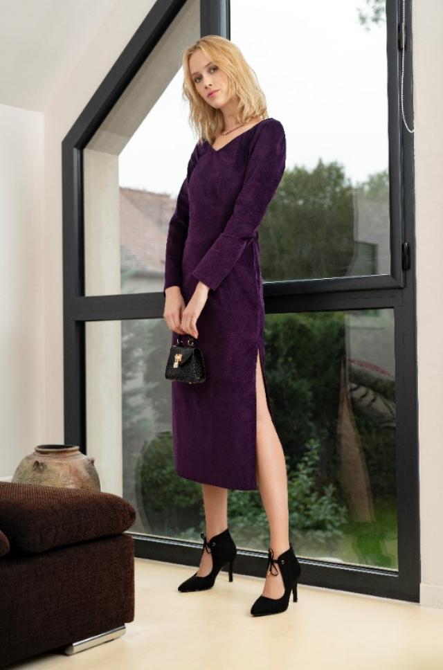Patron femme : robe glamour