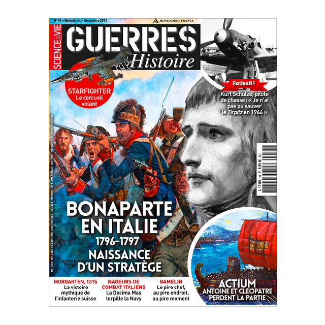 Guerres & Histoire n°34 : Bonaparte en Italie