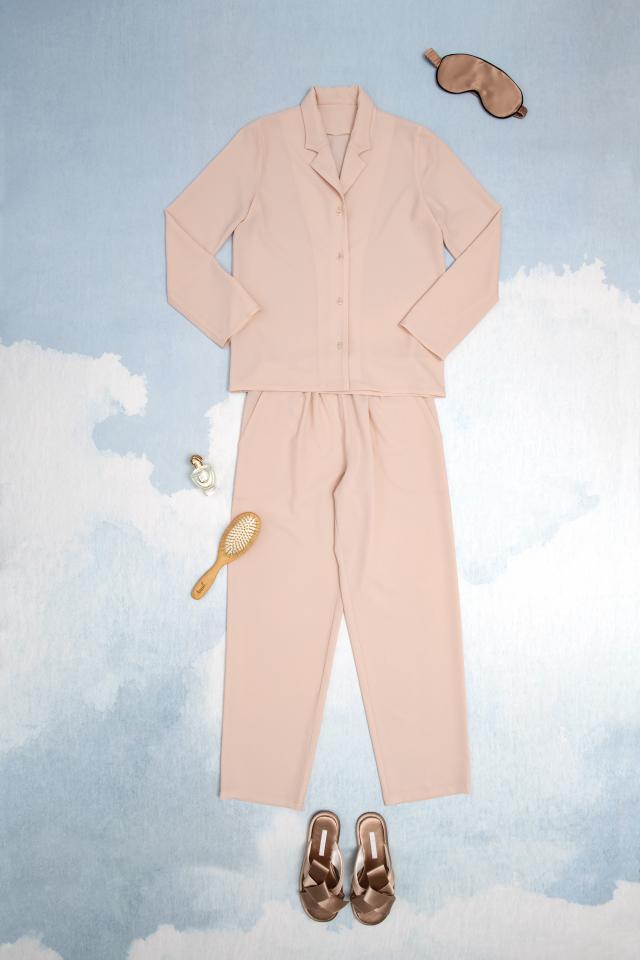 Patron Femme : Pyjama nude