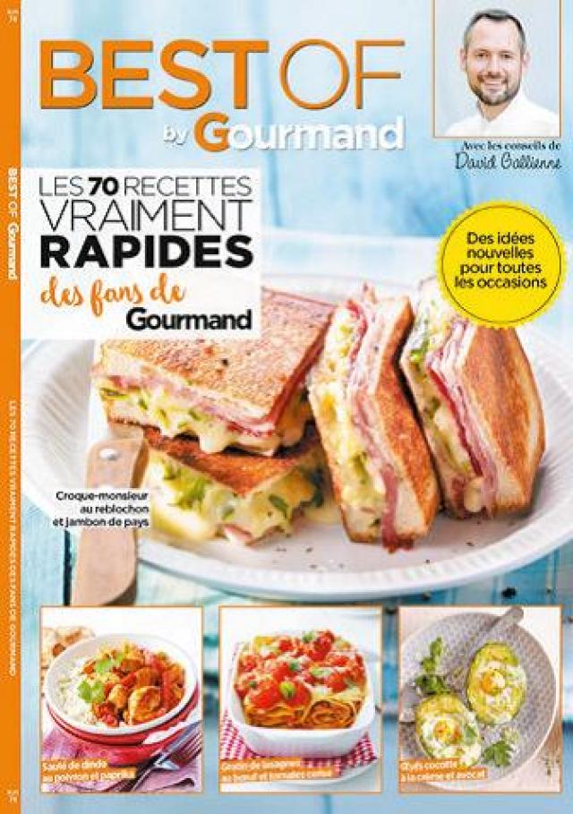 Best of Gourmand : Recette vraiment rapides