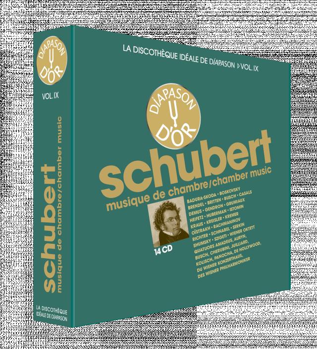 Discothèque Diapason 9 : Schubert