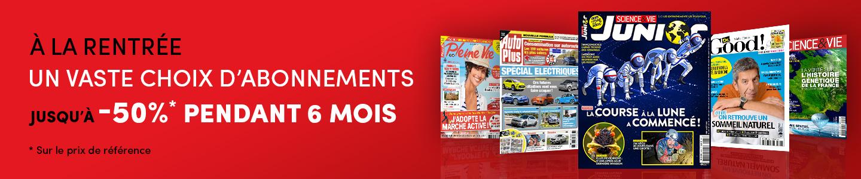 Kiosque Mag : PROFITEZ D'OFFRES EXCEPTIONNELLES SUR VOS MAGAZINES PRÉFÉRÉS