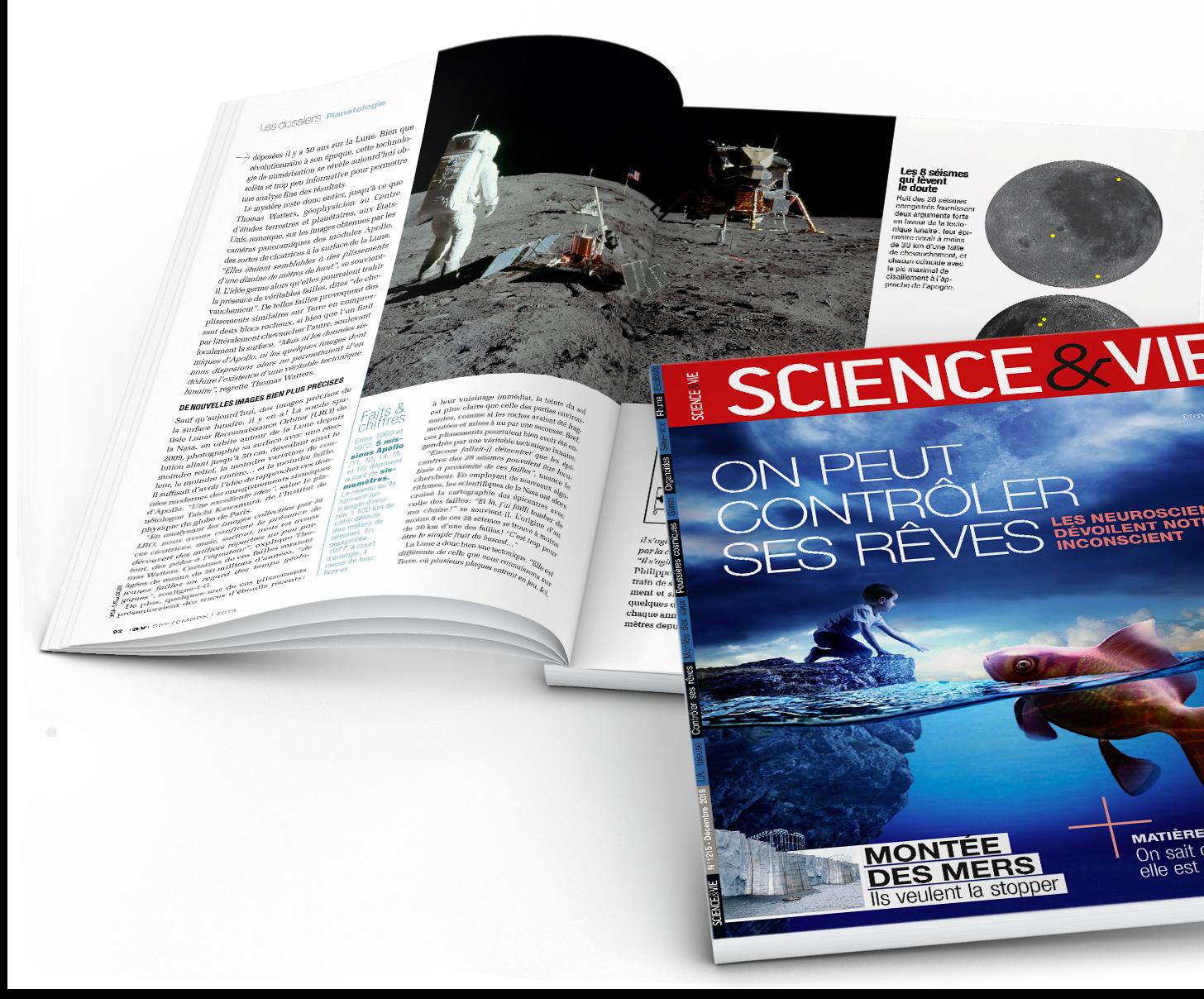 La boutique des magazines Science & Histoire