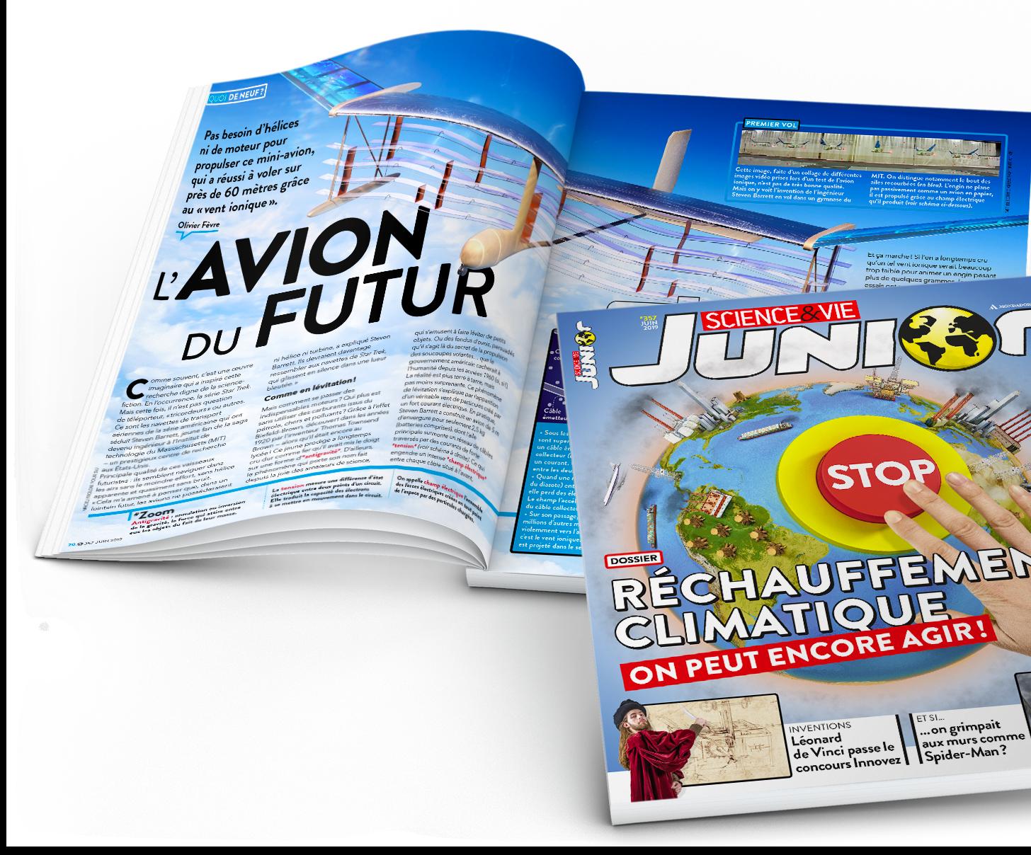 La boutique jeunesse des magazines Science & Vie