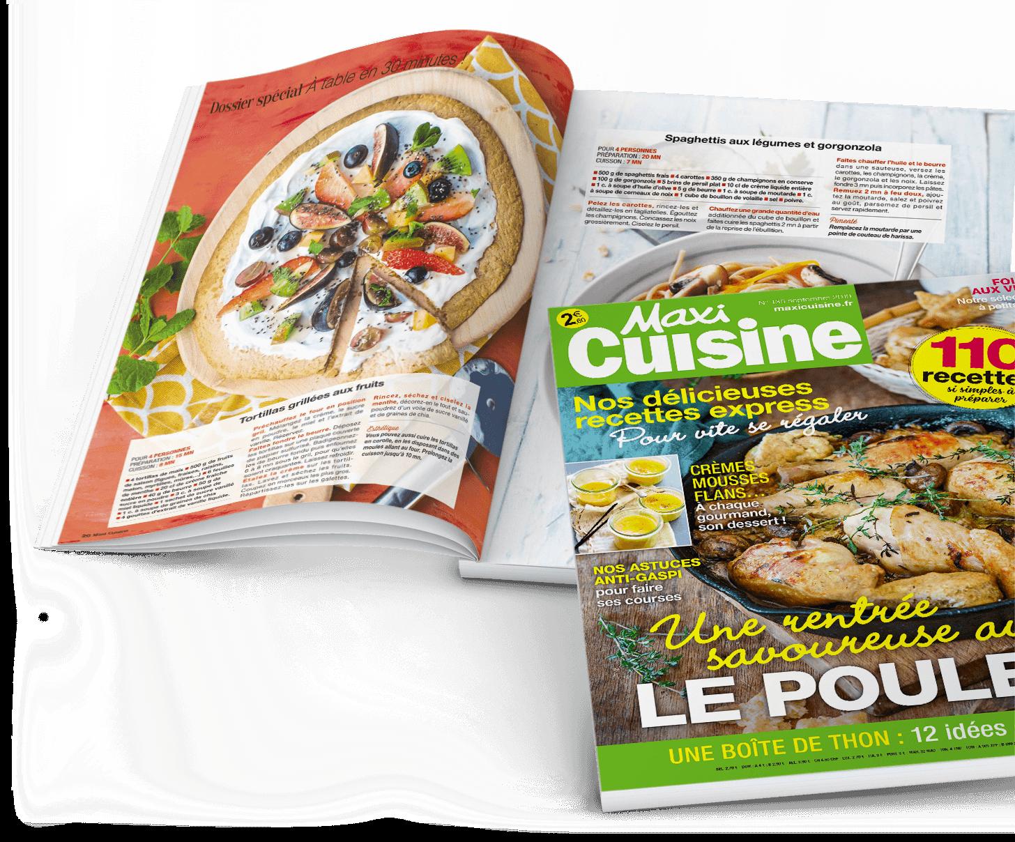 Abonnement Maxi Cuisine Au Meilleur Prix
